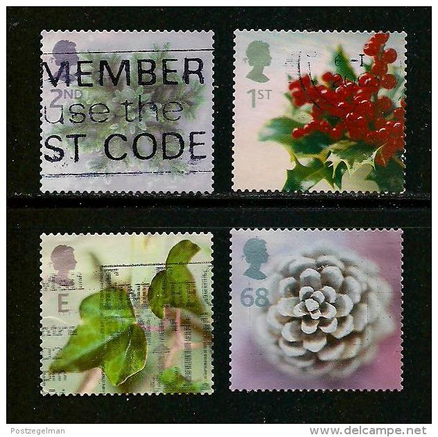 UK, 2002, Cancelled Stamp(s) , Christmas ,  Sg1619-1623, #14212 - 1952-.... (Elizabeth II)