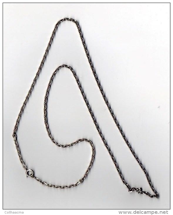 Bijoux  - Chaine En Argent  ( Poinçon ) 12 Gr. - Autres