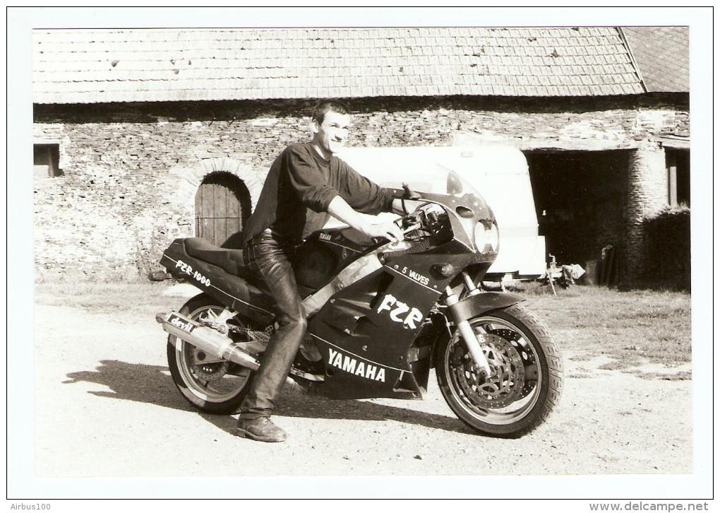 PHOTO ORIGINALE KODAK PROFESSIONAL MOTO YAMAHA FZR 1000 5 VALVES - Other