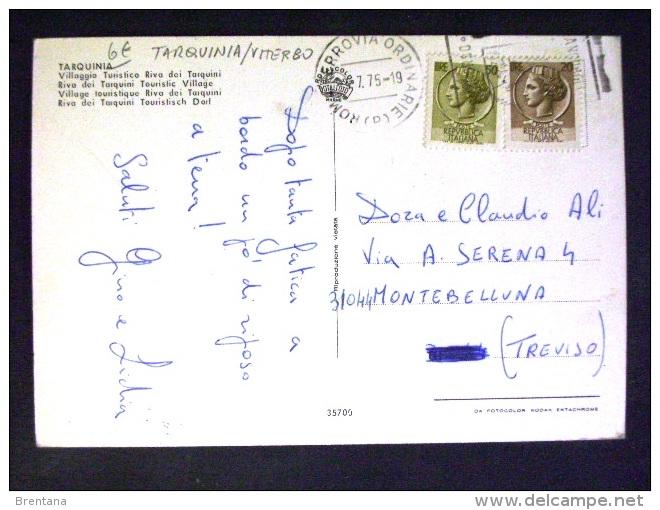 LAZIO -VITERBO -TARQUINIA -F.G. LOTTO N°515 - Viterbo