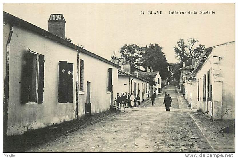 A-16 5311 :  BLAYE LA CITADELLE - Blaye