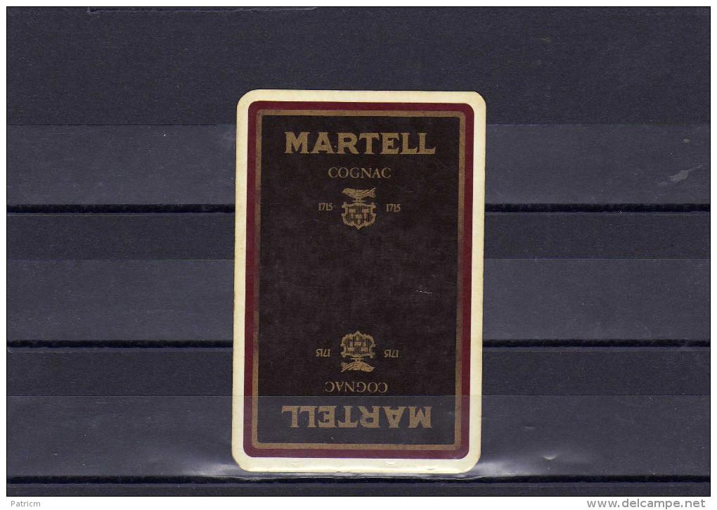 Dos D´une Carte à Jouer Du Cognac MARTELL - Non Classés