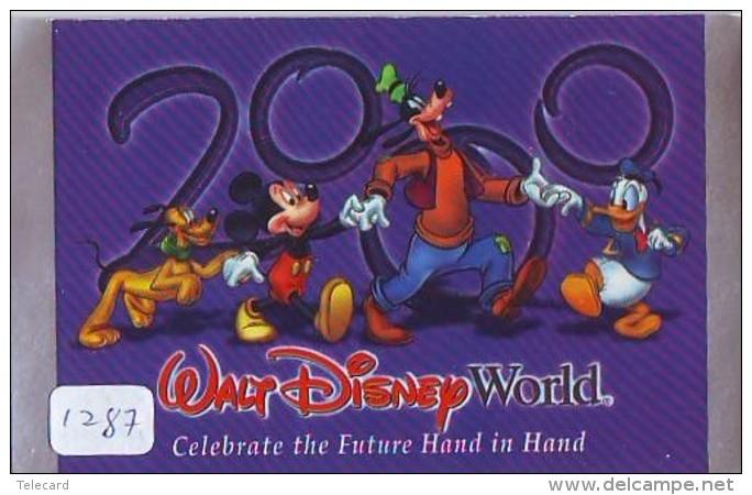 Disney Passeport Entreecard * USA * DISNEYLAND Passport (1287)  * FILM * CINEMA - Disney