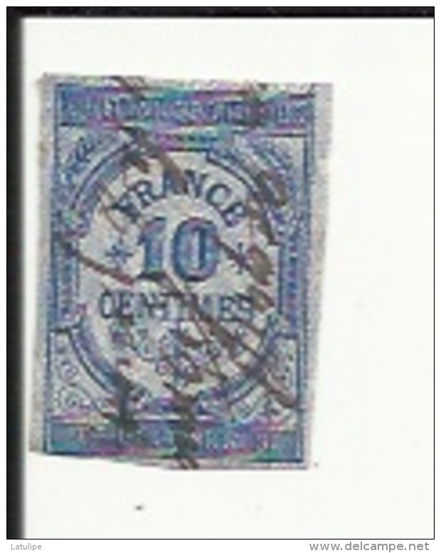 Timbre Fiscal De Quittances -Reçus Et Decharges 10 Cents Obliteré - Fiscale Zegels