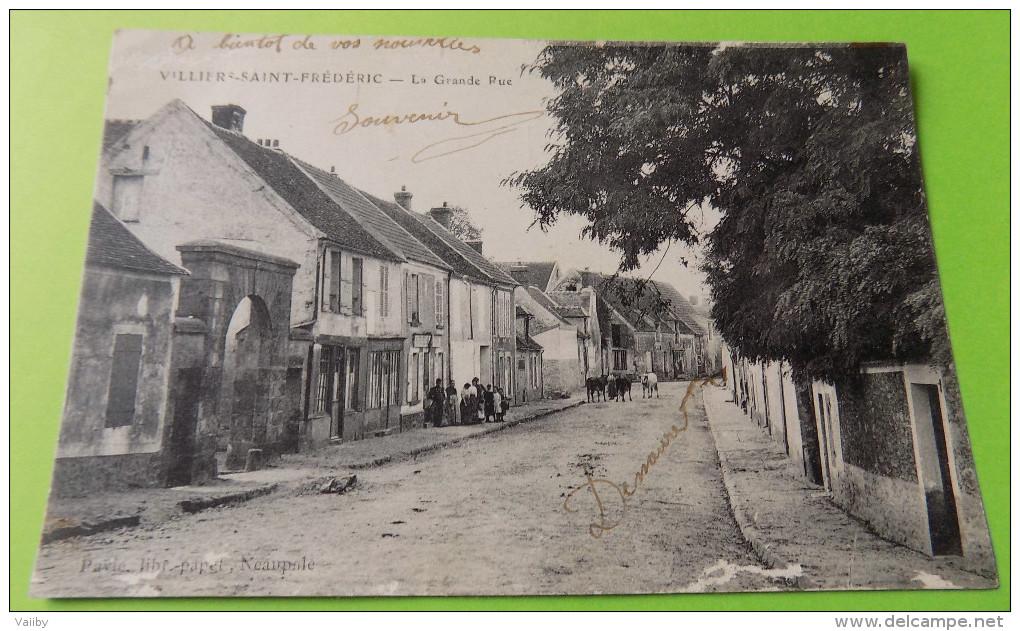 VILLIERS-SAINT-FREDERIC - La Grande Rue - France