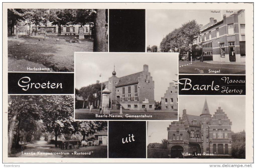 Groeten Uit Baarle Hertog Nassau Gekarteld Kempen - Baarle-Hertog