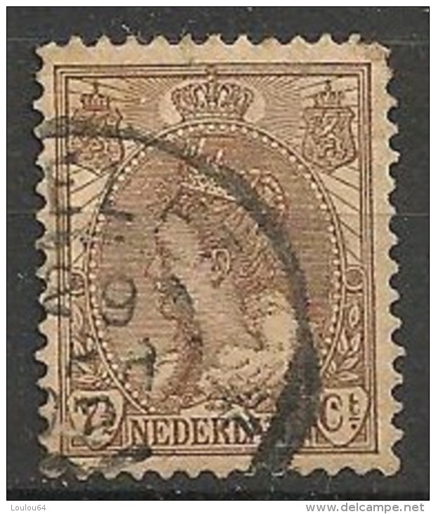 Timbres - Pays-Bas - 1898-1907 - 7 1/2 Ct - - Used Stamps