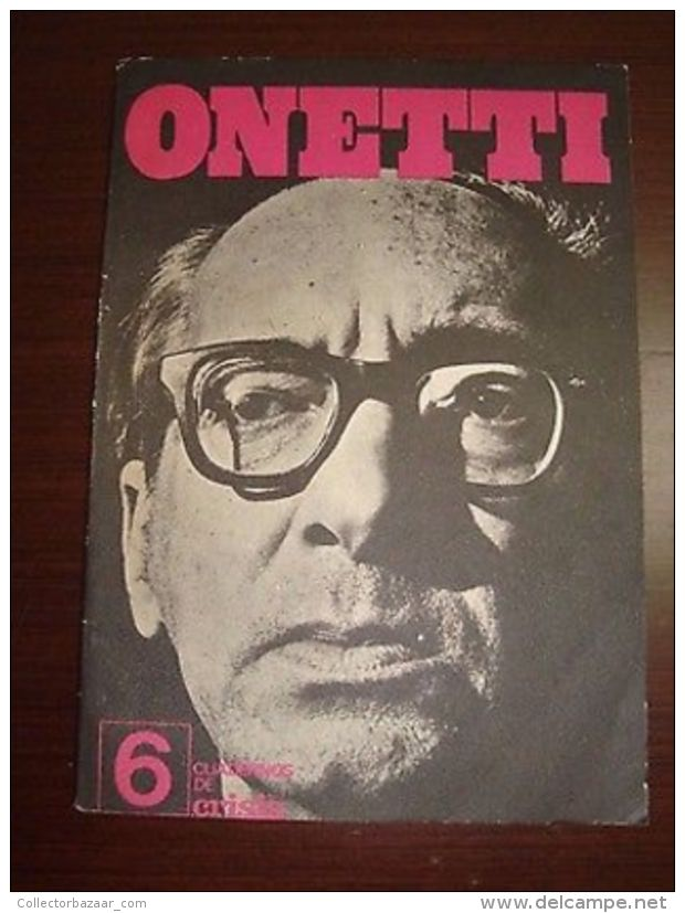 ONETTI 1974 Cuadernos De Crisis Interview - Books, Magazines, Comics