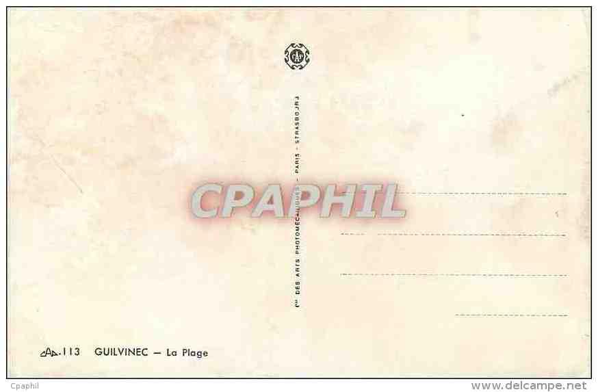 CPA Guilvinec La Plage - Guilvinec