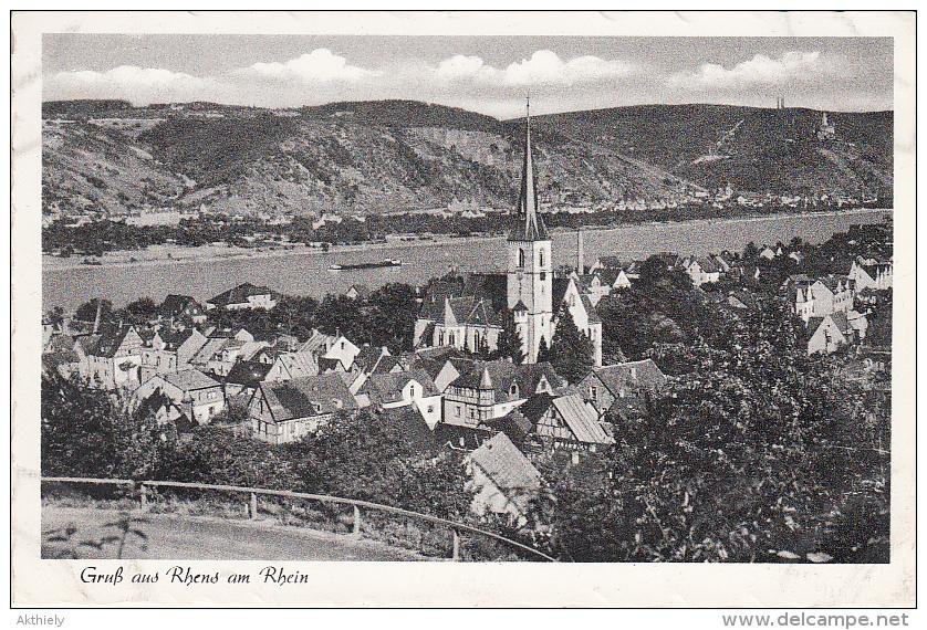 Gruß Aus Rbens Am Rhein Ak96887 - Germania
