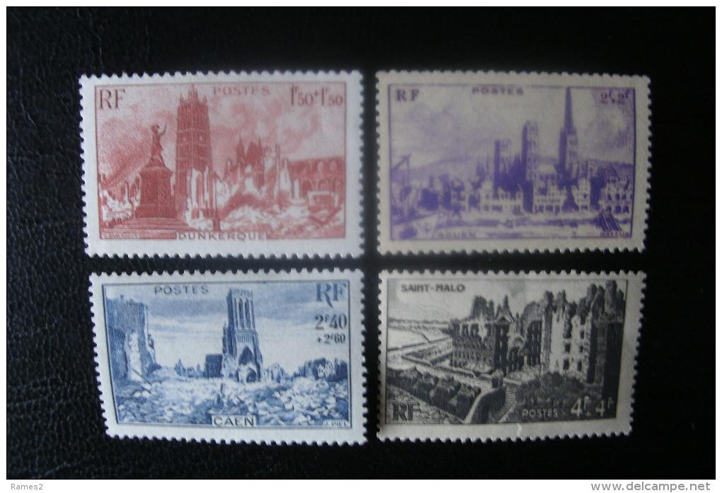 Timbre De France   N° 744/747 ** - Nuovi