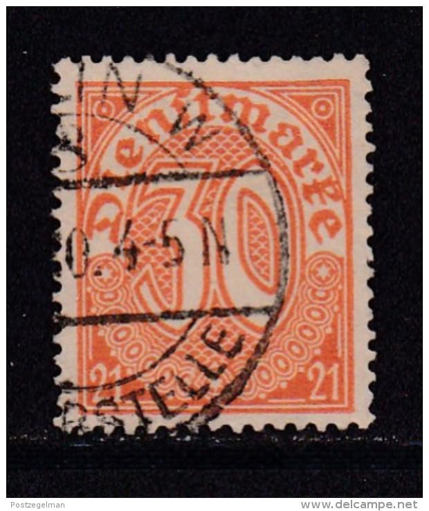 DEUTSCHES REICH, 1920, Cancelled Stamp(s), Dienstmarke (21), 30 Pf, MI D20, #16212 , - Germany