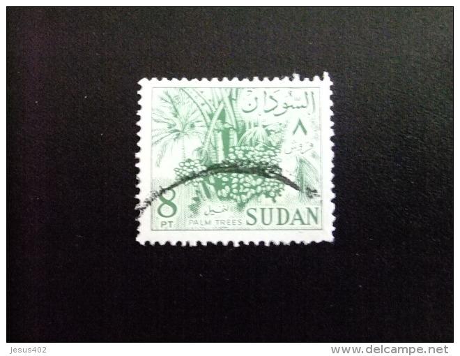 SOUDAN RÉPUBLIQUE SUDAN 1962 PALMIER Yvert Nº 153 A º FU - Sudan (1954-...)