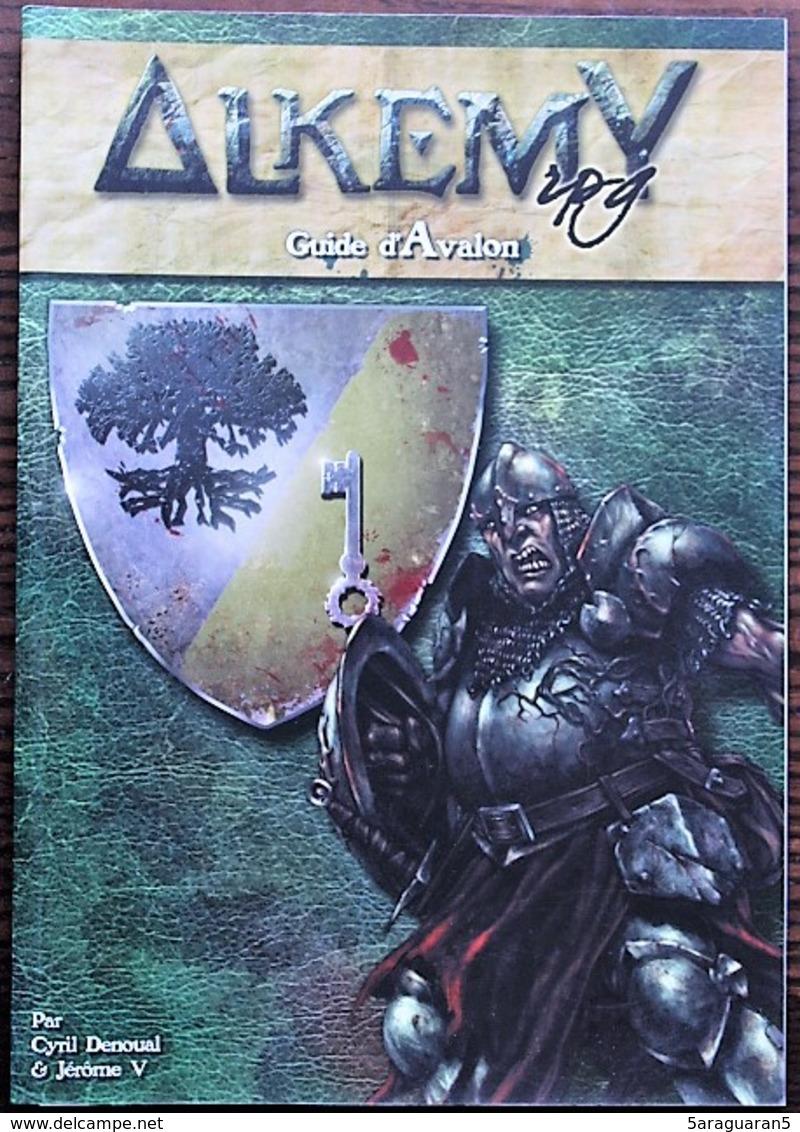 JEU DE ROLE / FIGURINES - ALKEMY - Guide D'Avalon (D&D4) - Dungeons & Dragons