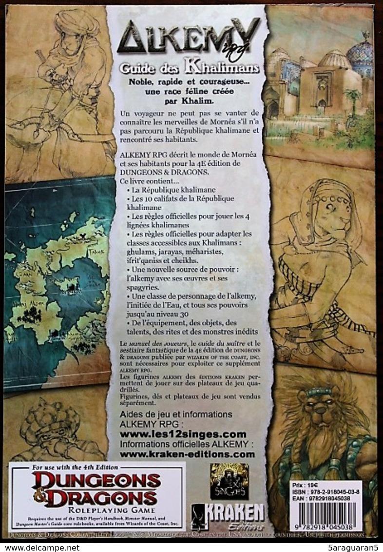 JEU DE ROLE / FIGURINES - ALKEMY - Guide Des Khalimans (D&D4) - Dungeons & Dragons