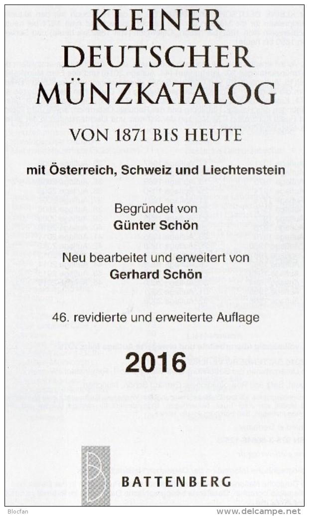 2016 Schön Kleiner Deutschland+Leuchturm EURO-Münzkatalog Neu 27€ Coin D 3.Reich Saar Memel Danzig SBZ DDR AM BRD EUROPA - Livres & Logiciels