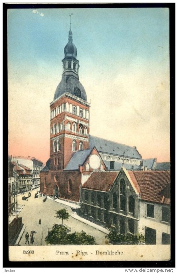 Cpa De Lettonie -- Riga Domkirche     LIOB37 - Lettonie