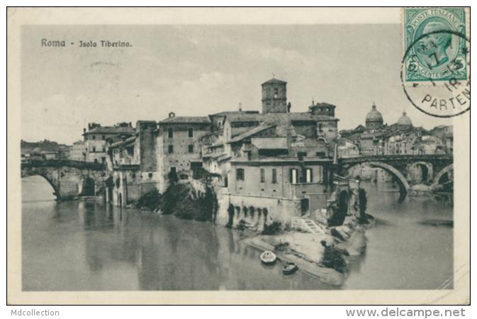IT ROMA / Isola Tiberina / - Roma (Rome)