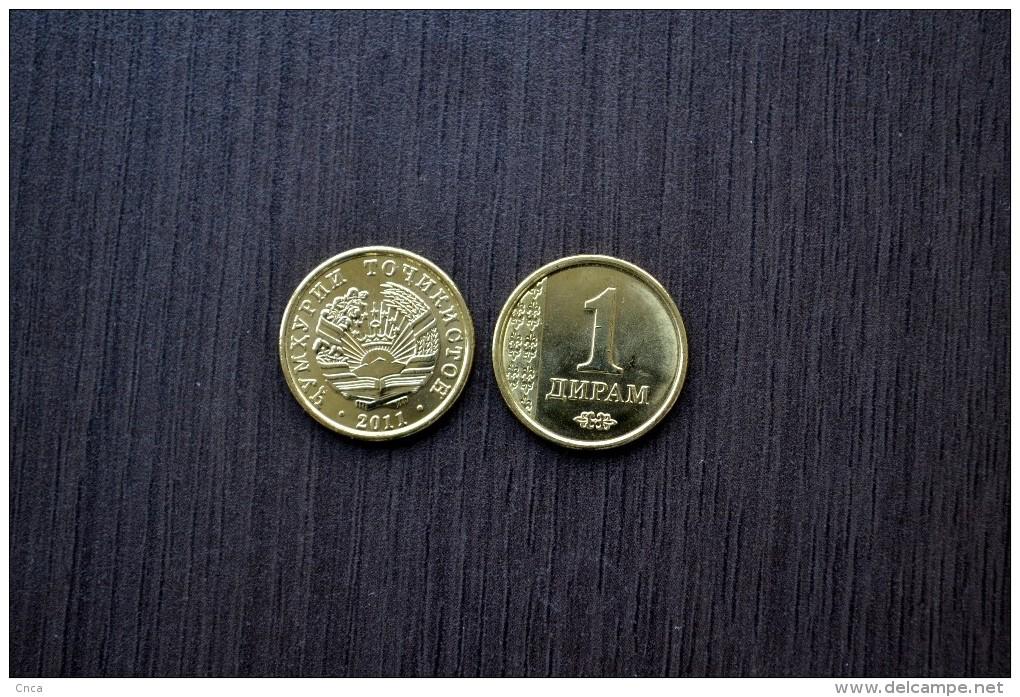 Tajikistan 1 Diram 2011 Km35 UNC  Asian Coin - Tadjikistan