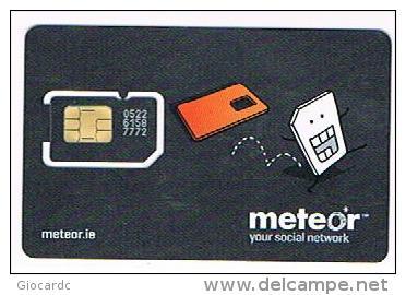 IRLANDA (IRELAND) - METEOR (GSM SIM)  -       MINT  -  RIF. 7841bis - Irlanda