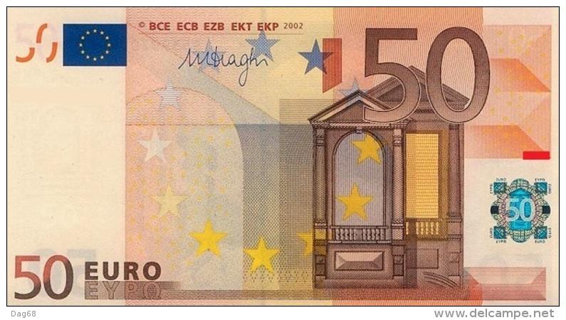 EURO SLOVAKIA 50 E DRAGHI R052 UNC - EURO