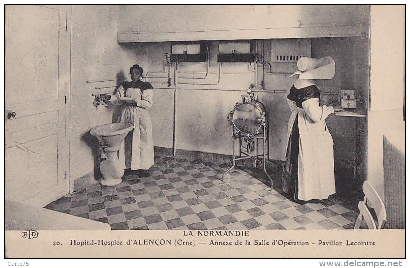 Santé - Médecine - Annexe Salle D'Opération Hôpital Alençon - Santé