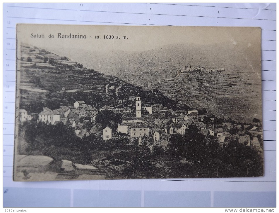 CARTOLINA Di  RONDANINA   GENOVA  NON VIAGGIATA   H2074 - Genova (Genoa)