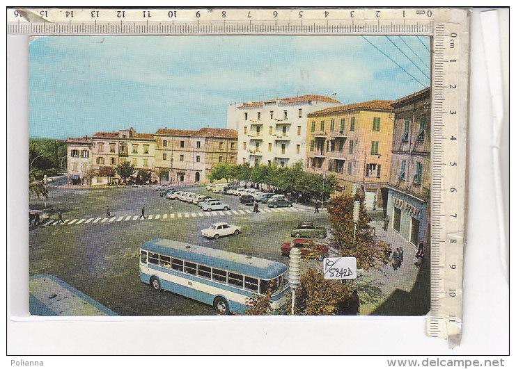 PO5242D# SASSARI - EMICICLO GARIBALDI - AUTOBUS SCIA - AUTO  VG 1964 - Sassari