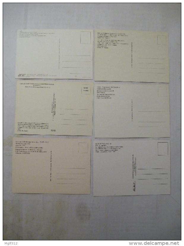 LILLE-ROUBAIX-TOURCOING : TRAMWAY (série 6) Motrices Anciennes Avant 1982 LOT De 6 CPM - Voir Les Scans Recto-verso - Tramways
