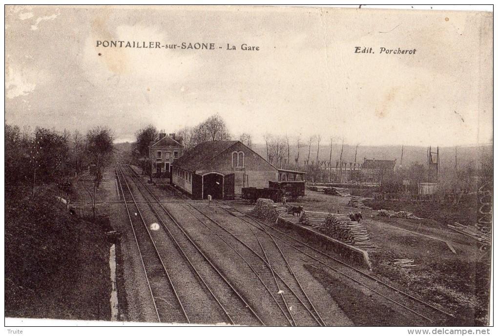 PONTAILLER-SUR-SAONE LA GARE - France