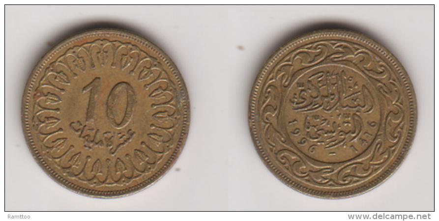 Tunesien , 10 Millimes , 1996 ( G.Schön 204 / 3 ) - Tunisia
