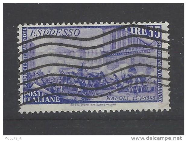 Italia - 1948 - Usato/used - Espresso - Mi N. 760 - 1946-60: Afgestempeld
