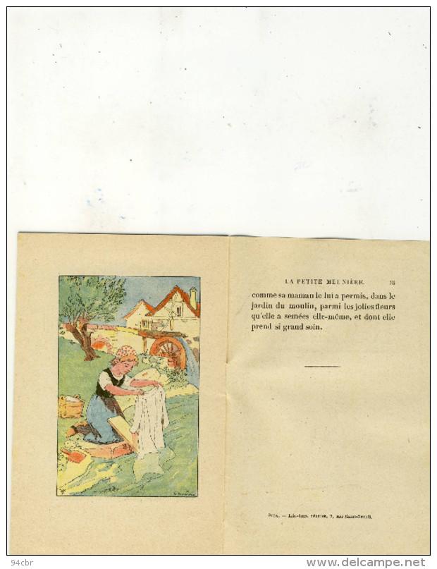 Petit Livre Publicitaire  Enfant 10x16.5(chocolat Lombart)la Petite Meuniere (b Vieux Papiers) - Pubblicitari