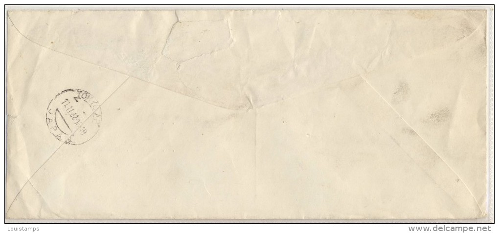 Air Mail Letter - Used 1962 To APO Japan,    Ref04 - United States