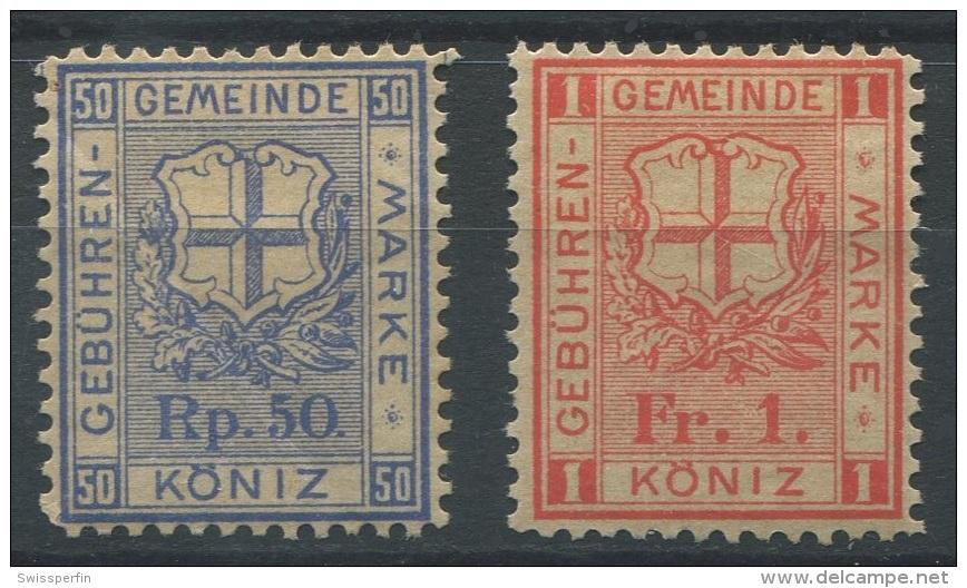 1308 - KÖNIZ Fiskalmarken - Steuermarken