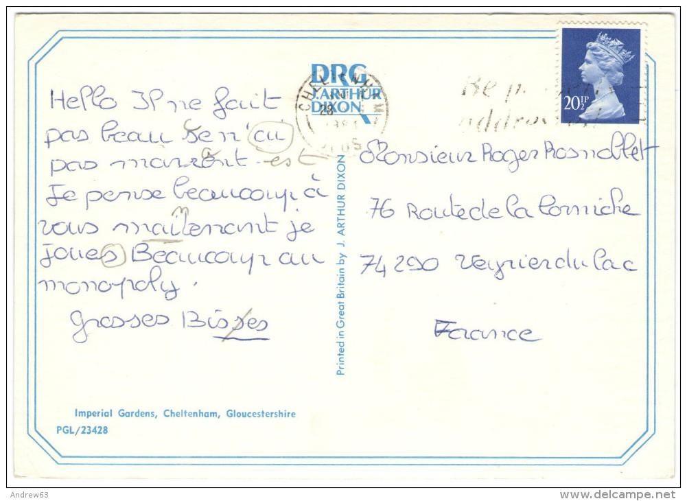 GB - Regno Unito - GREAT BRITAIN - 1981 - 20 1/2p + Flamme Be Properly Addressed Postcode It - Cheltenham, Imperial G... - Non Classificati