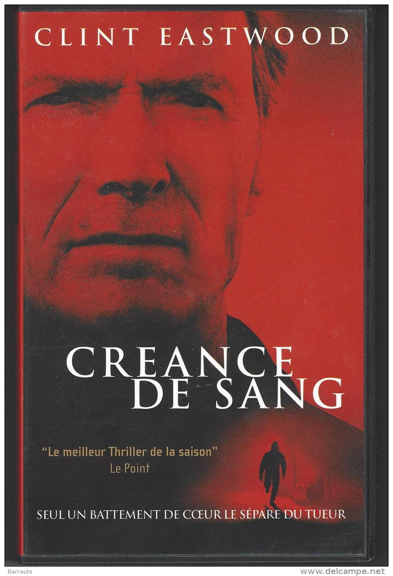 Fillm VHS  CREANCE De SANG Avec CLINT EASTWOOD - Action, Aventure
