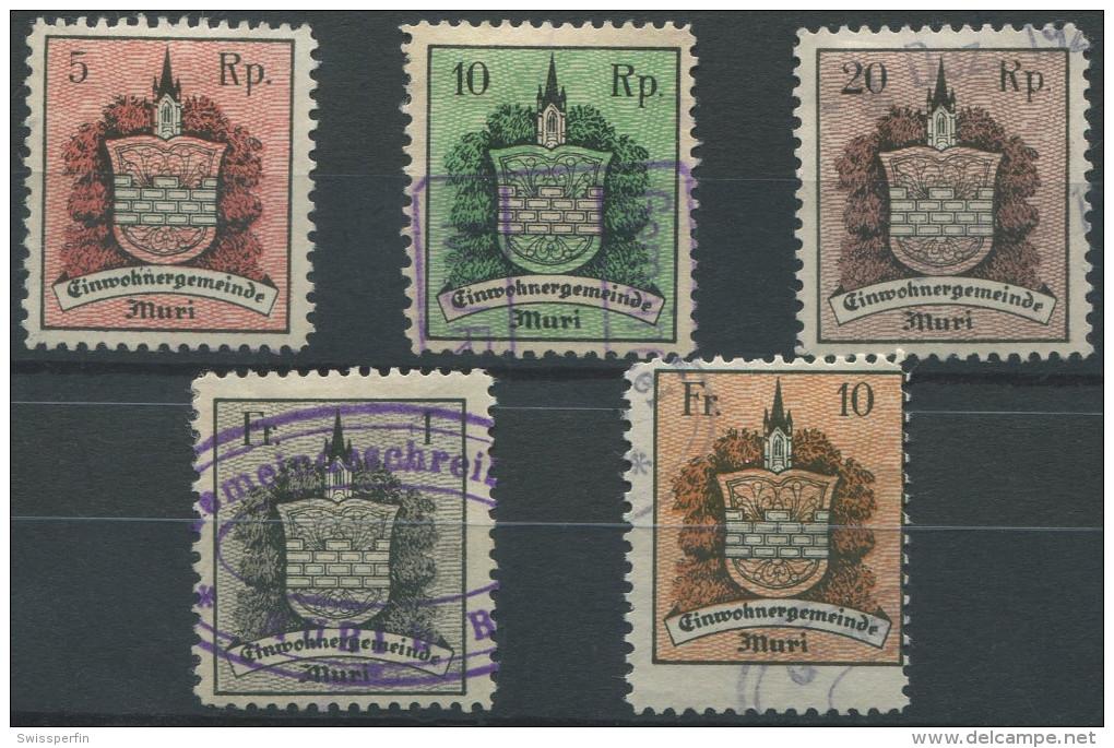 1345 - MURI Fiskalmarken - Fiscaux