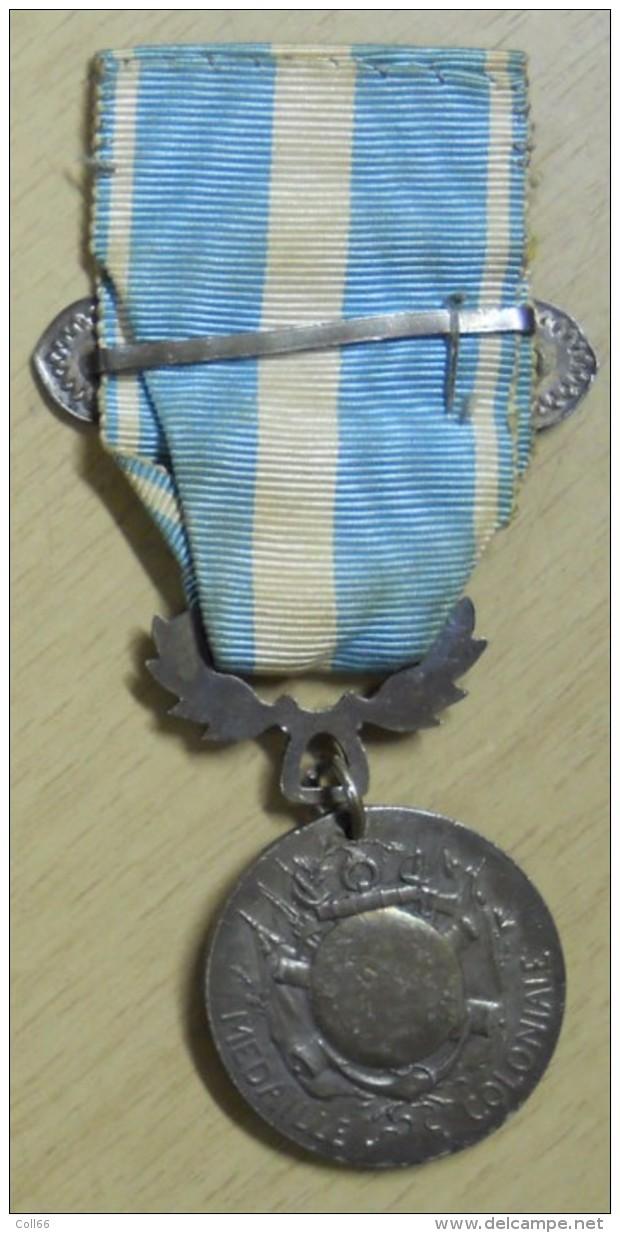 1893 Médaille Du Maroc Avec Barrette Maroc Et Son Ruban Module En Argent Signée Lemaire Postage Voir Description - Frankrijk