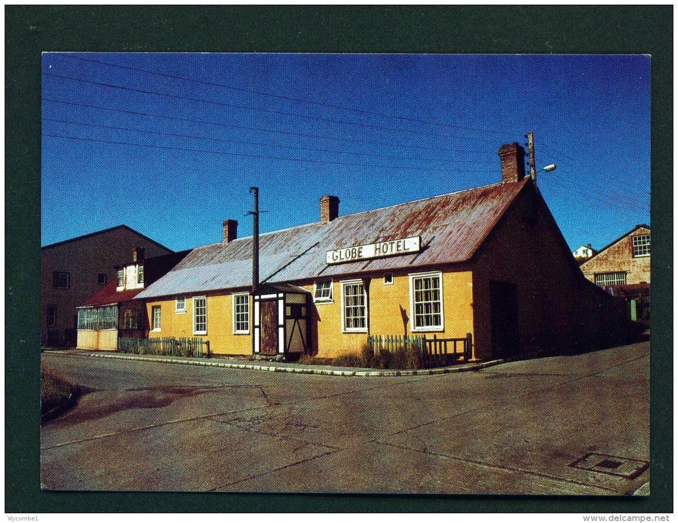 FALKLAND ISLANDS  -  Port Stanley  Globe Hotel  Unused Postcard - Falkland Islands