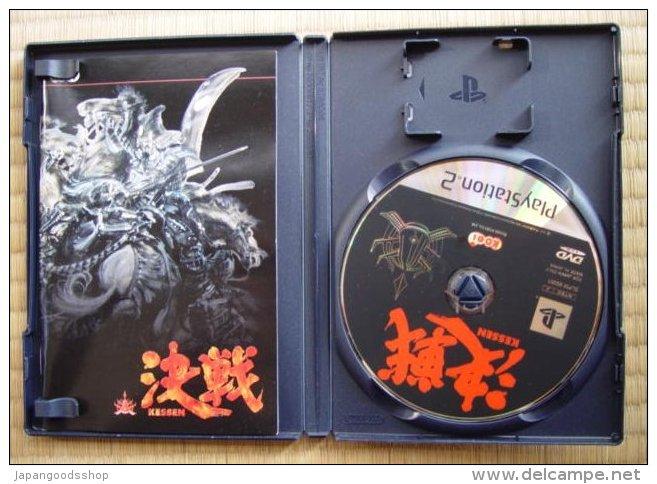 PS2 Japanese : Kessen - Sony PlayStation