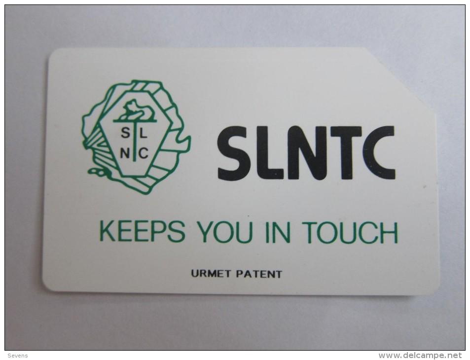 Urmet Phonecard,SRL-08 SLNTC Logo,100units,used - Sierra Leone