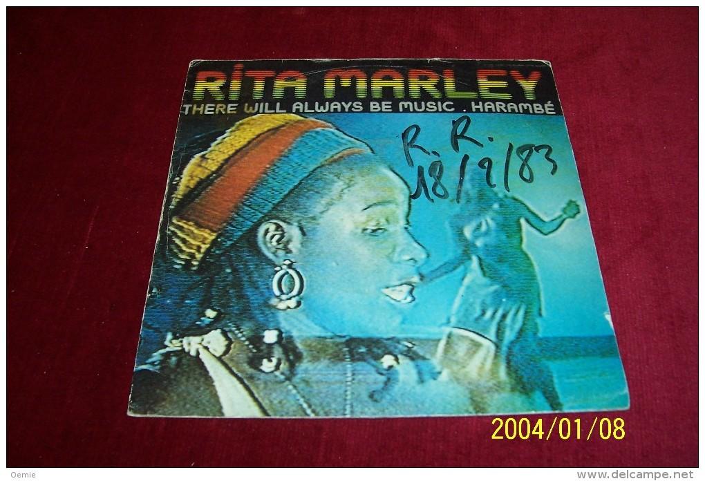 RITA MARLEY  °  THERE WILL ALWAYS BE MUSIC - Reggae