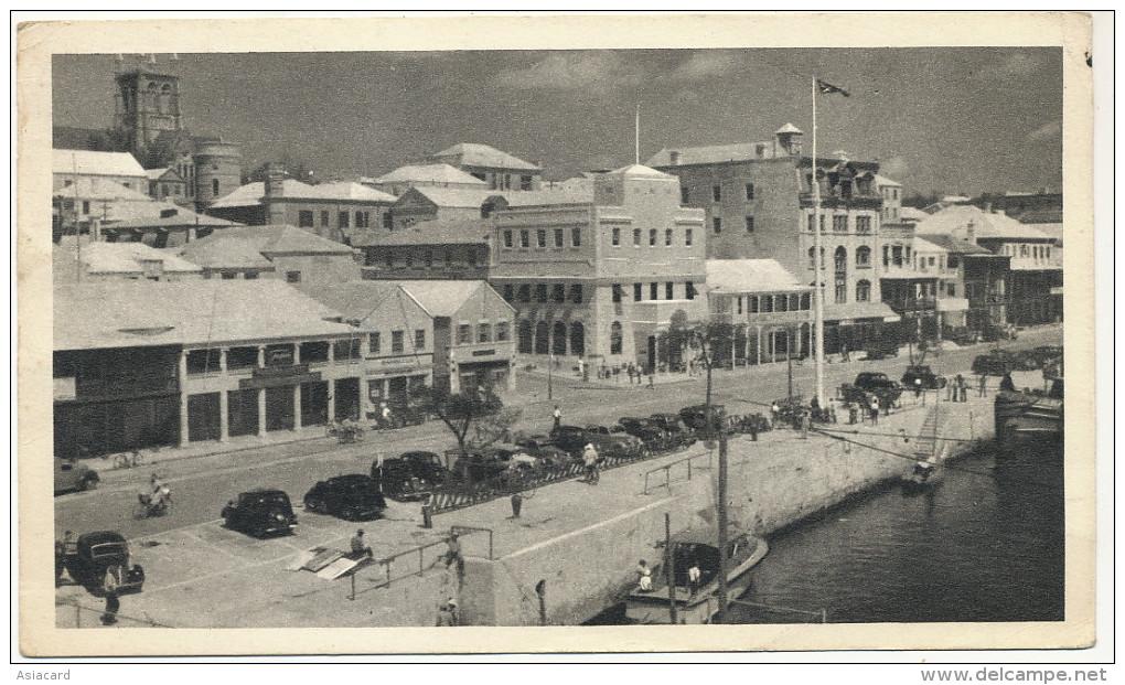 Bermudes Maisons De Corail   Used Hamilton1952 Advert For Plasmarine To Doctor Gilli Nice - Bermudes