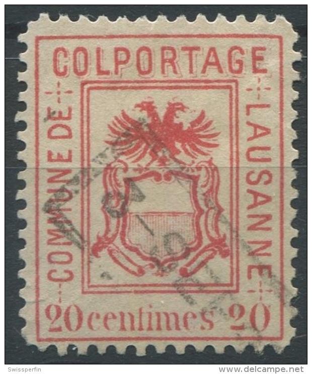 1427 - LAUSANNE Fiskalmarke - Fiscaux