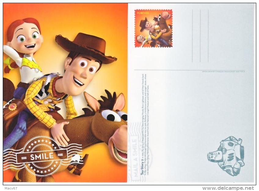 DISNEY POSTAL CARD    TOY  STORY 2     ** - 2001-10
