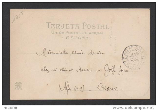DD / CORRIDA / CORRIDA DE TORROS / EL CHICUELO / HAUSER Y MENET - MADRID / CIRCULÉE EN 1903 - Corrida