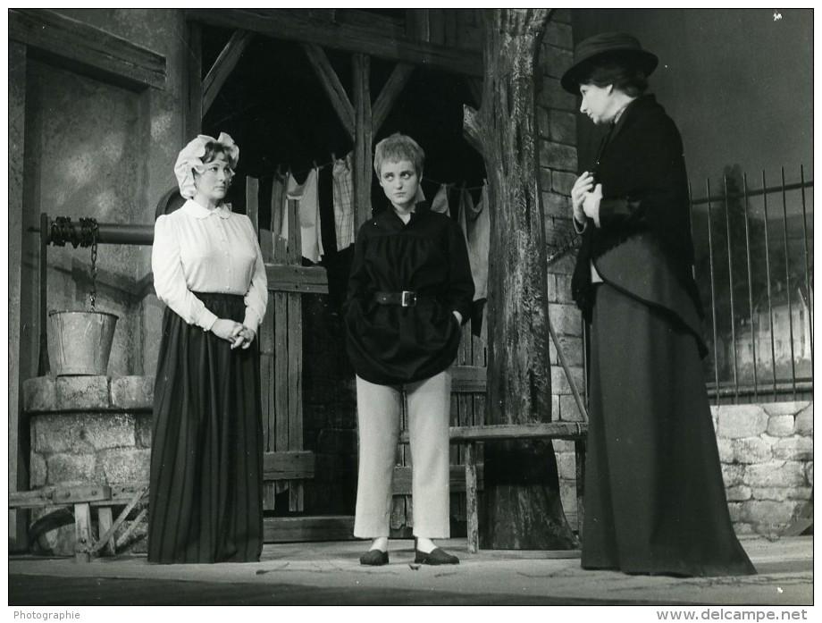 France Theatre Poil De Carotte Jules Renard Ancienne Photo Stirling 1970 - Berühmtheiten