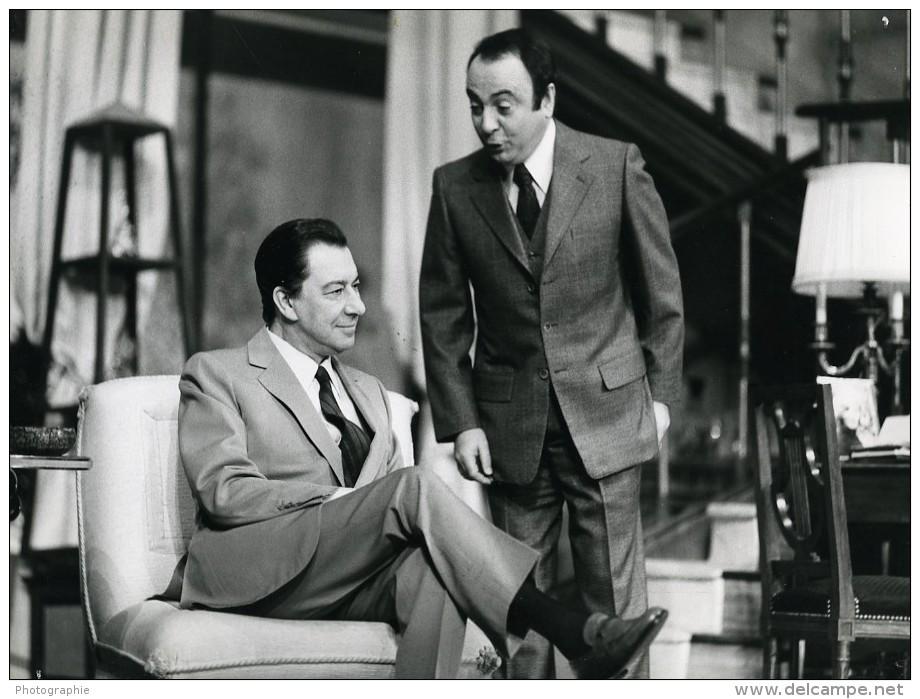 France Theatre Un Sale Egoiste Avec Paul Meurisse Ancienne Photo 1971 - Famous People