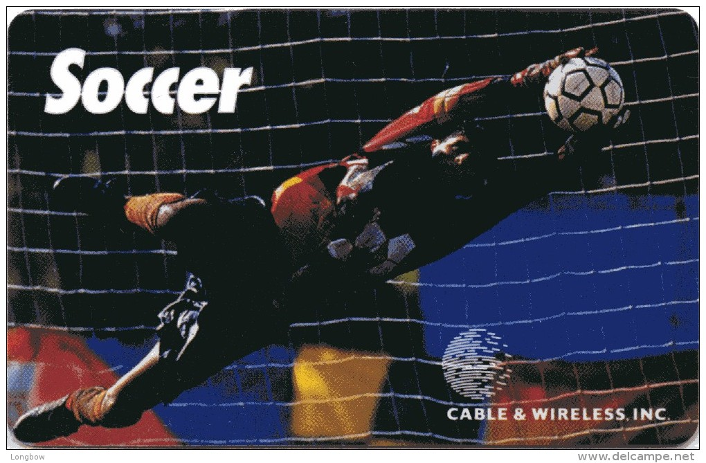 CABLE & WIRELESS Soccer 10.000ex. Mint - Altri – America